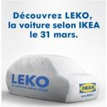 nouveau buzz ikea Leko, la nouvelle voiture